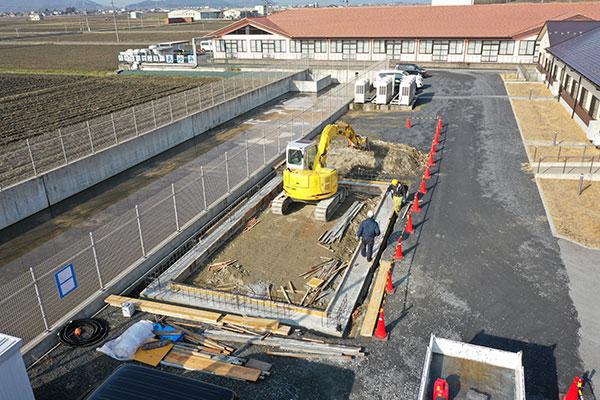 「新築倉庫建築」受注致しました。