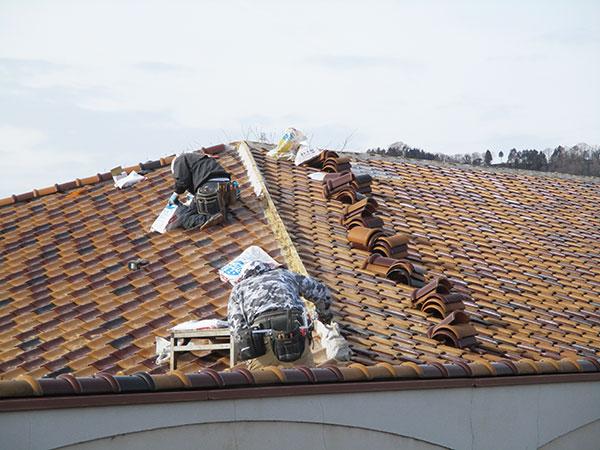 老人健康保健施設の屋根修繕工事を「施設工事部」にて受注