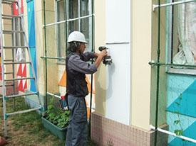 施設工事部 建築工事 外壁補修工事