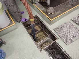 メンテナンス部 環境衛生管理業務 グリストラップ清掃